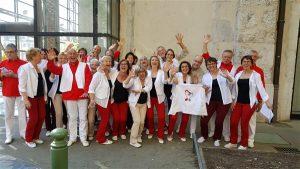 Stage LVA- les choristes et bénévoles de Coup d'Choeur