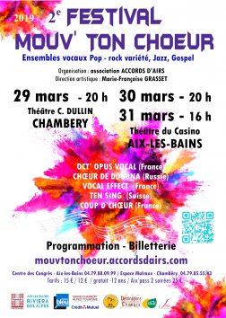 Festival Mouv' Ton Choeur Affiche