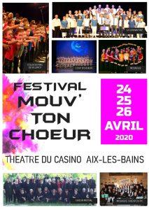 Festival Mouv' ton Choeur- Aix-les- Bains- 2020